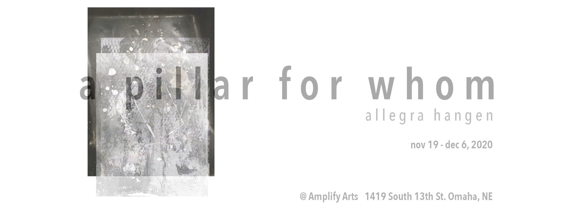 A pillar for whom banner image