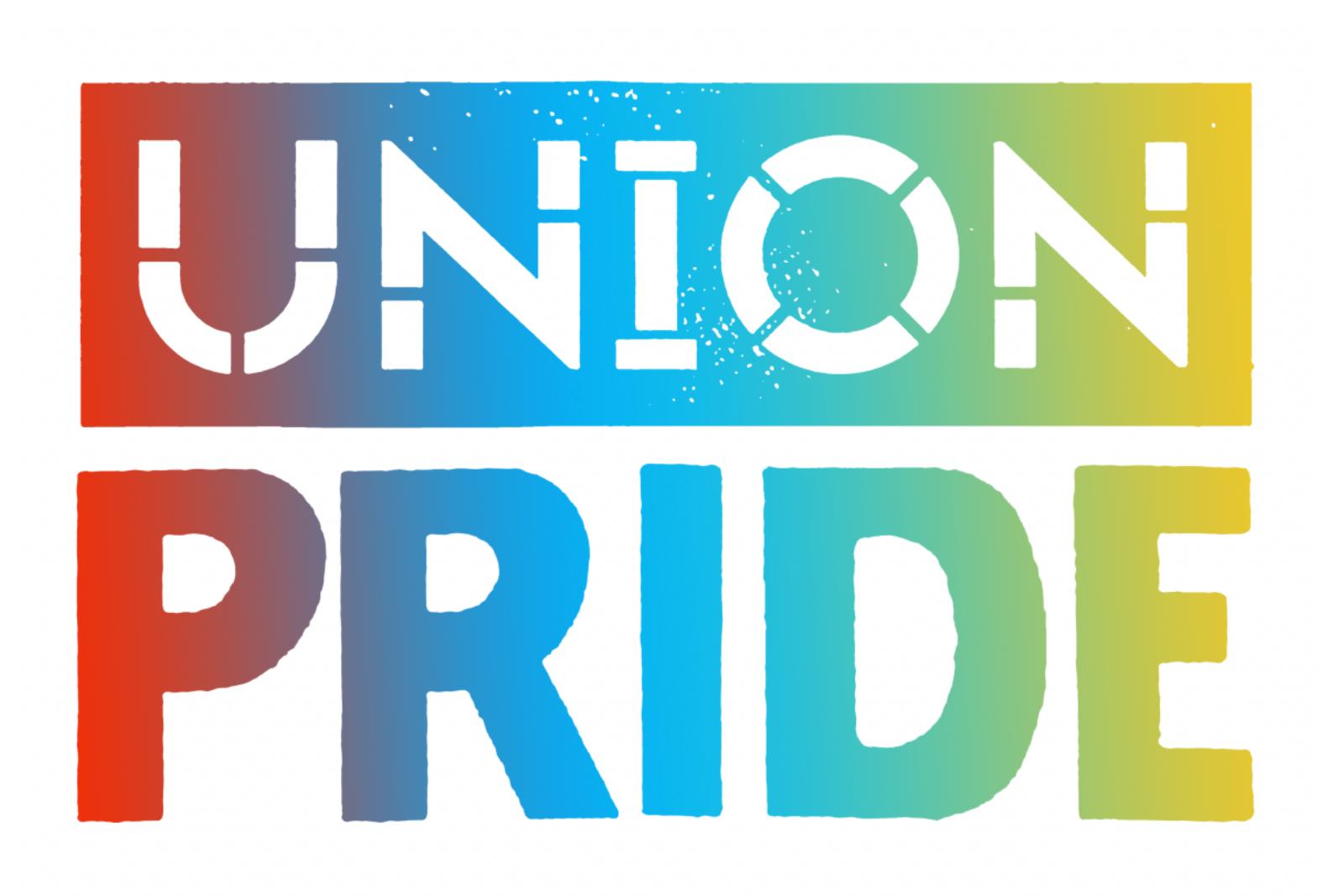 Union Pride Logo with rainbow colors