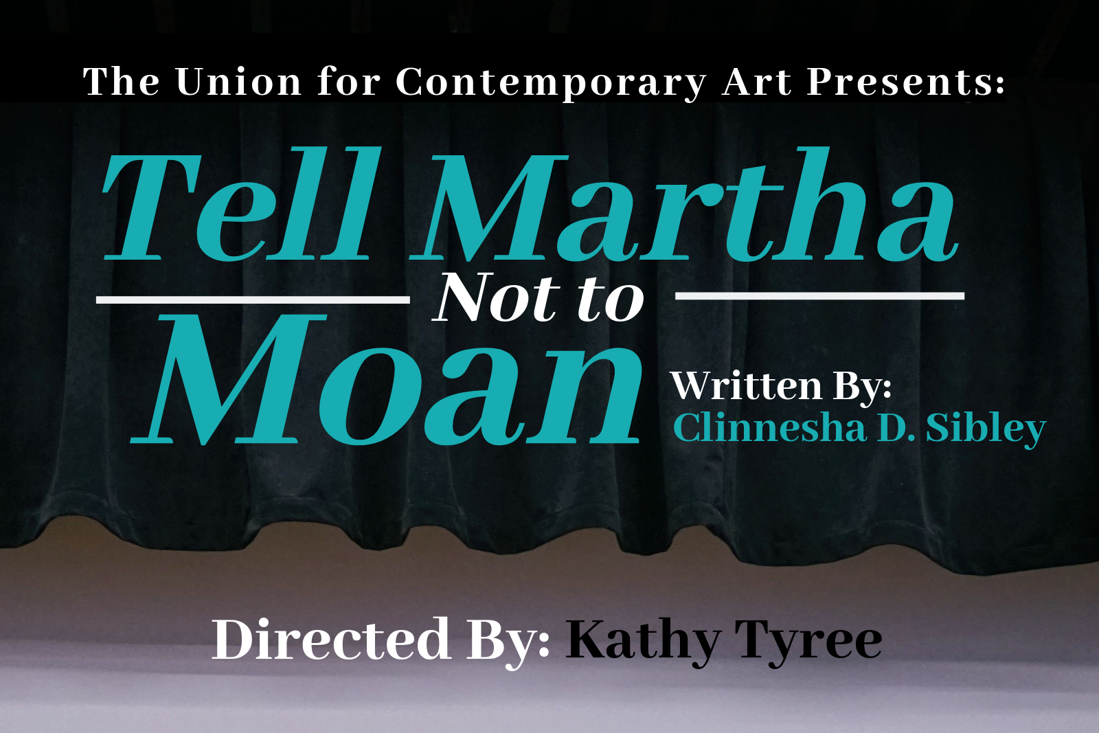 Tell martha not to moan